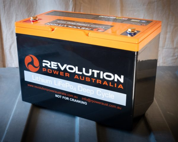 100 Ah Lithium Revolution Power Solutions