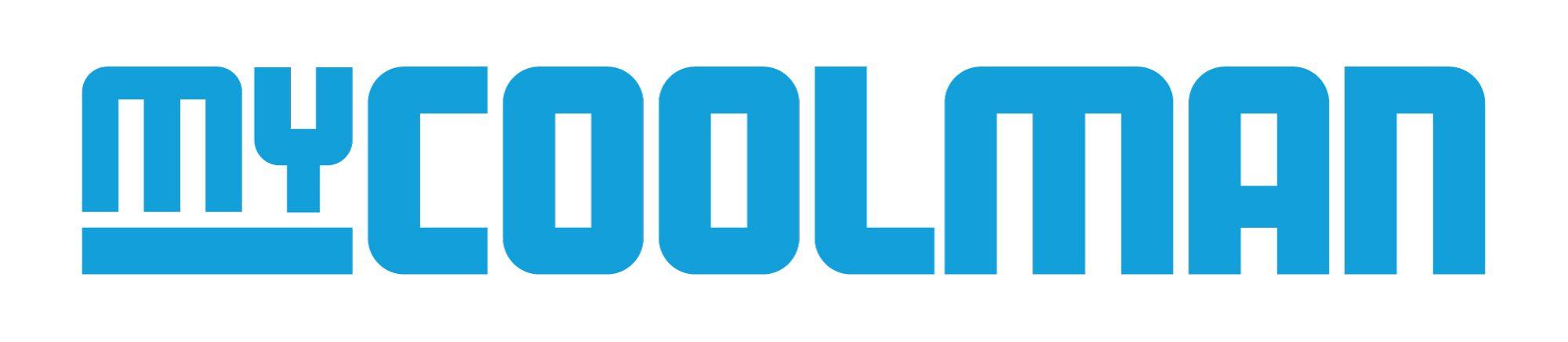 Mycoolman Logo Blue