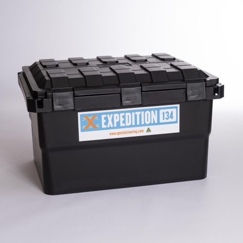 Open Sky Touring Expedition 134 Boxes Black
