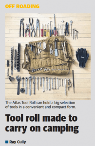 Tested: The West Australian - Tool Roll made to carry on camping