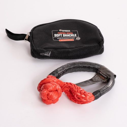A247 Saber Offroad 14,000kg Fully Bound Heavy Duty Soft Shackle